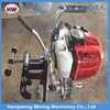 internal combustion rail drill machine for steel railroad track