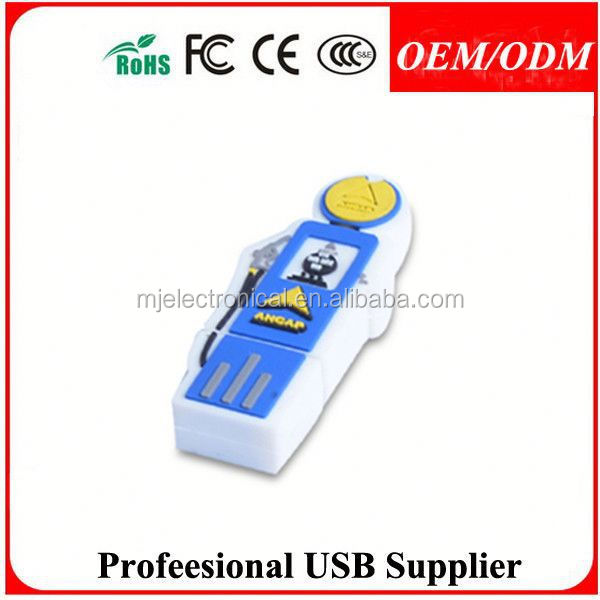 Free logo/design/sample,christmas day present pvc usb flash drive,Gift for club