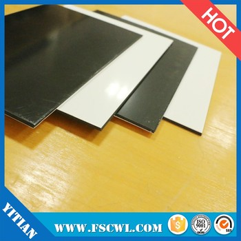 0.5mm 1.0mm 5mm Extruded Colored Natural Translucent Plastic PP Polypropylene Sheet / Board / Plate