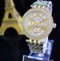 Stainless steel bracelet beautiful digital quartz watch the sports business group