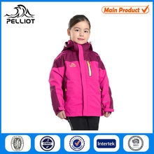 outdoor waterproof and windproof girls winter clothing