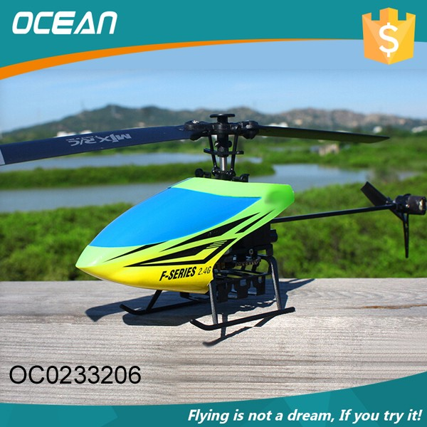 Popular kids big 4ch single blade rc flying helicopter toy OC0233206