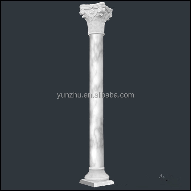 Home decorative stone carved greek columns for interior for Where to buy columns for house