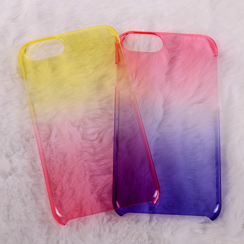 Bulk Buy Sublimation Utra Thin Color Changing PC Cell Phone Case For iphone 7 7 Plus
