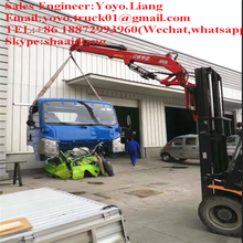Forklift Attachment - Telescopic Adjustable Forklift Jib Crane Attachment