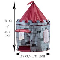 Hot selling pop up boy folding children play house kids tent