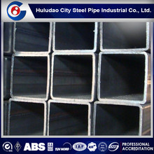 ASTM A500B SHS ! rectangular steel pipe , steel square tubing weight chart