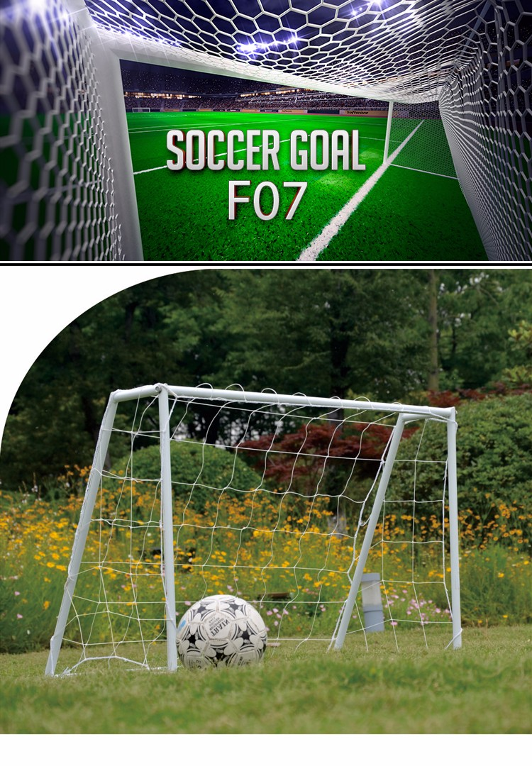 Portable youth soccer goal sport goal football training equipment