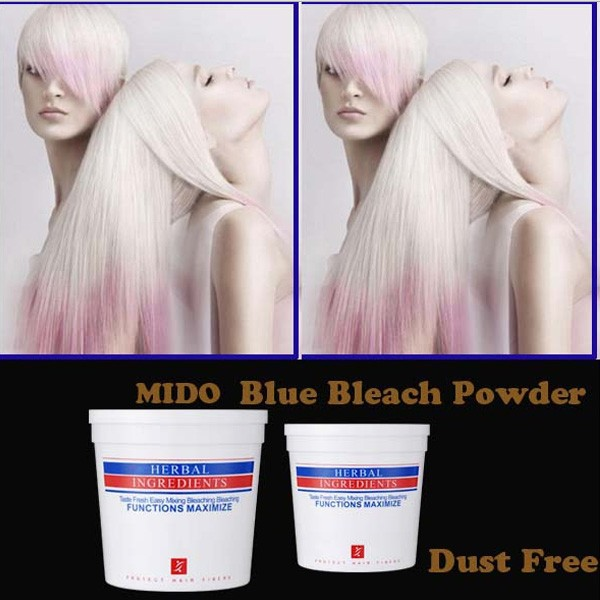 500ml permanent fragrant dust free powder for hair colouring