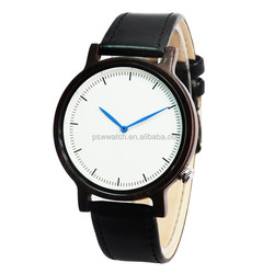 43mm size unisex wood watches for men and women quartz wooden watches