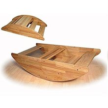 Nursery school used Daycare furniture kid wooden toys Step rocking boat