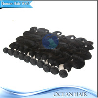 100% Human Hair Virgin Unprocessed Full Cuticle Triple Weft Clip In Hair Extension