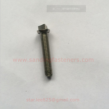 Stainless steel Triangle head machine screws