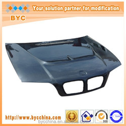 Car Hood for BMW E46 3 Series 330i Vents Style 4 Doors Cf Bonnet