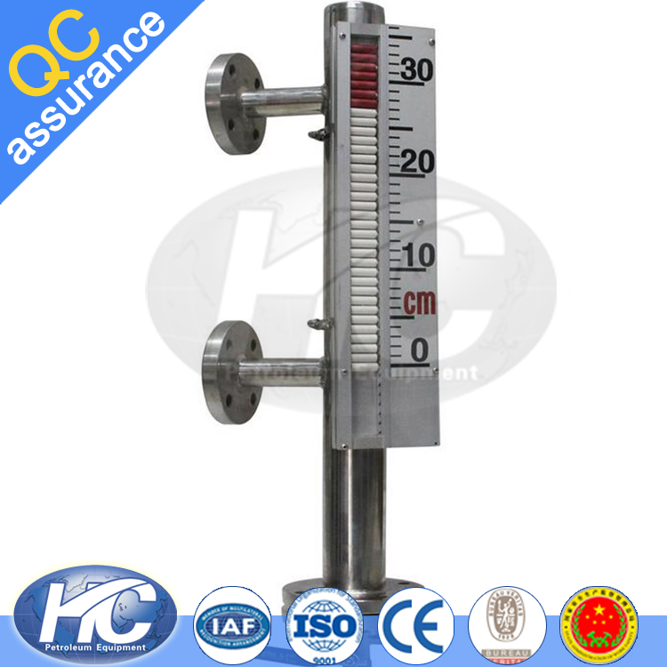 Direct-reading liquid level indicator / magnetic level gauges / water level gauge for tanks