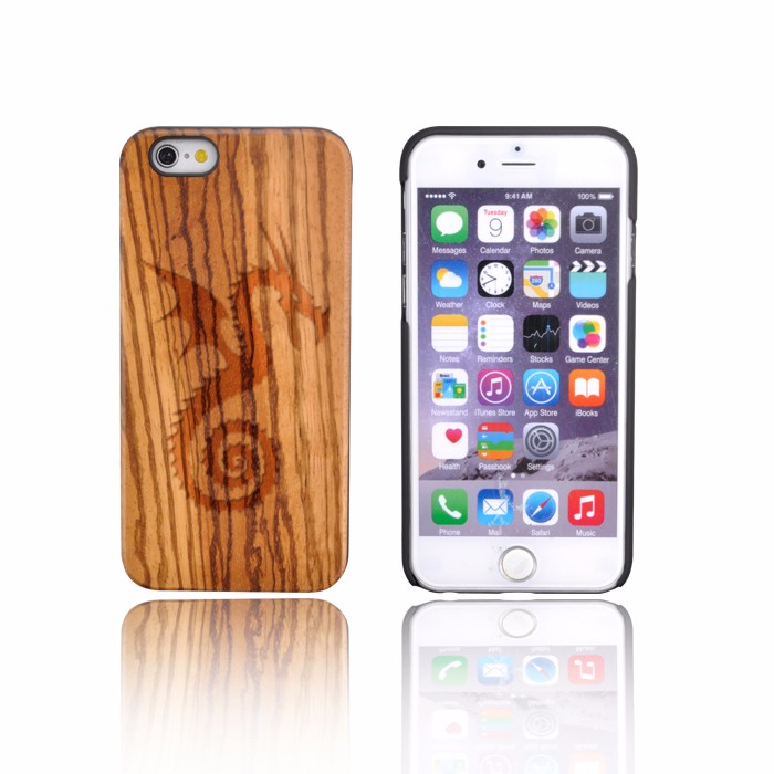 ODM Acceptable Nature Wood Case For Apple Iphone 4