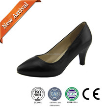 Made In China Formal High Heel Black Women Shoes For For Daily Wear