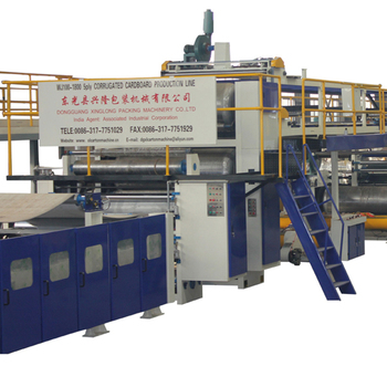 High efficiency 3 layer vertical cartoner machine