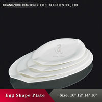 hotel chafing inexpensive embossing white egg dish