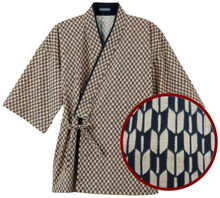 japanese men kimono like wear also called a jinbei