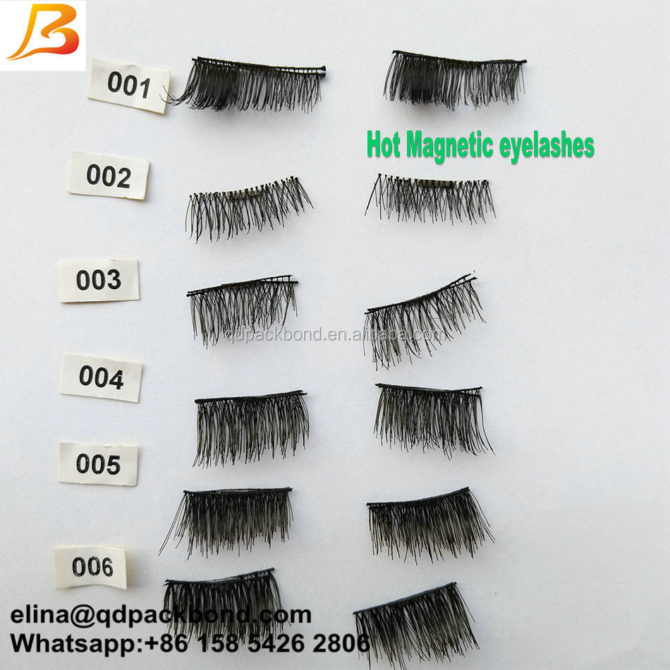100% Hand Made Own Brand Mink Eye Lashes False Magnetic Eyelashes Manufacturer with Lash Packaging Magnetic