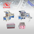 semi-automatic cans/bottles case sleeve shrinking machine