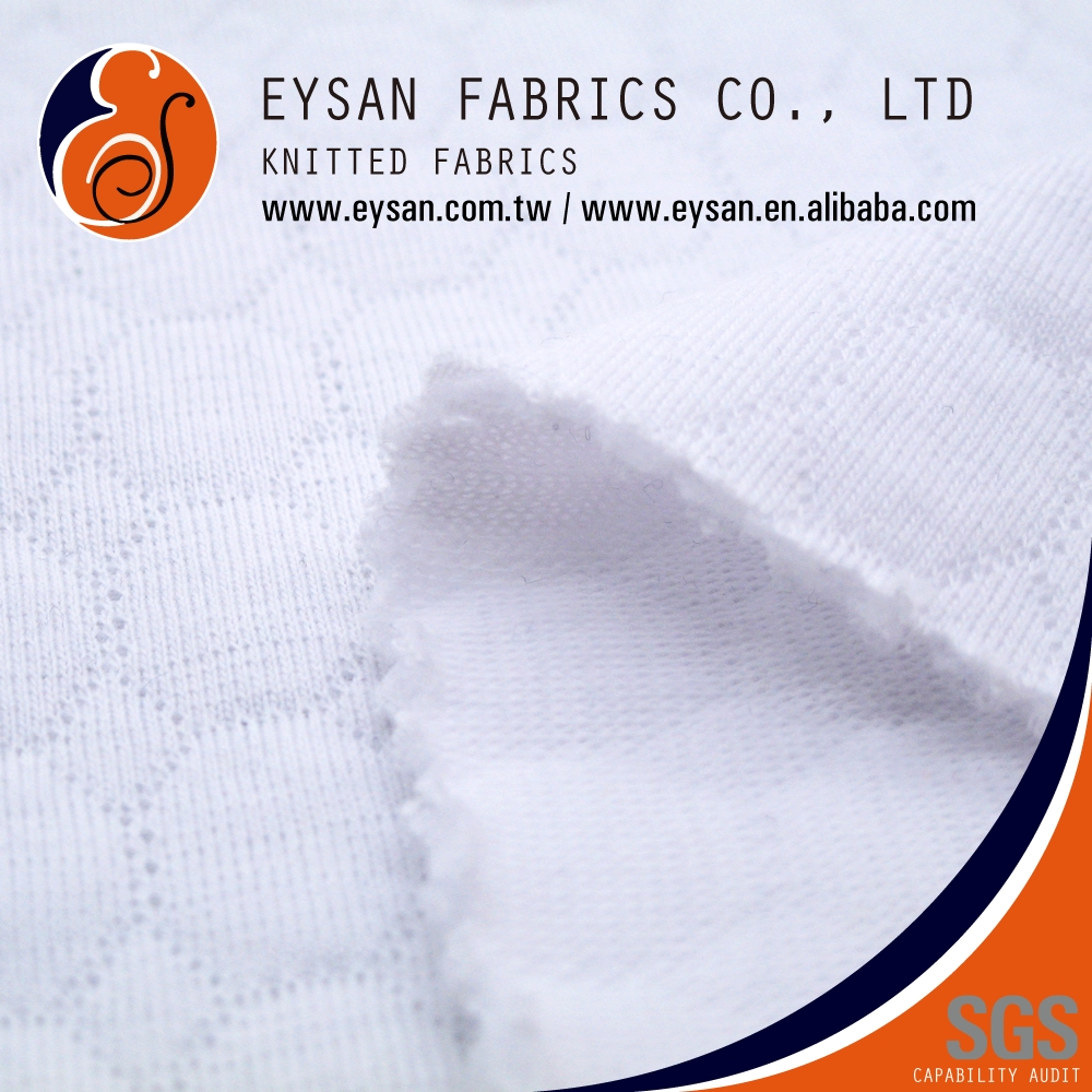 EYSAN Hexagon Double Knit Polyester Cotton Shirting Quilt Fabric