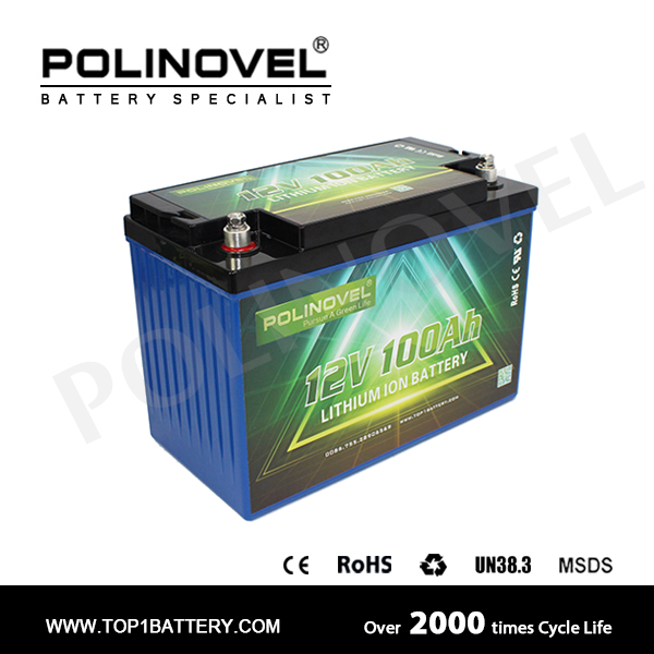 electric trolling motor li-ion battery pack 12v 100ah