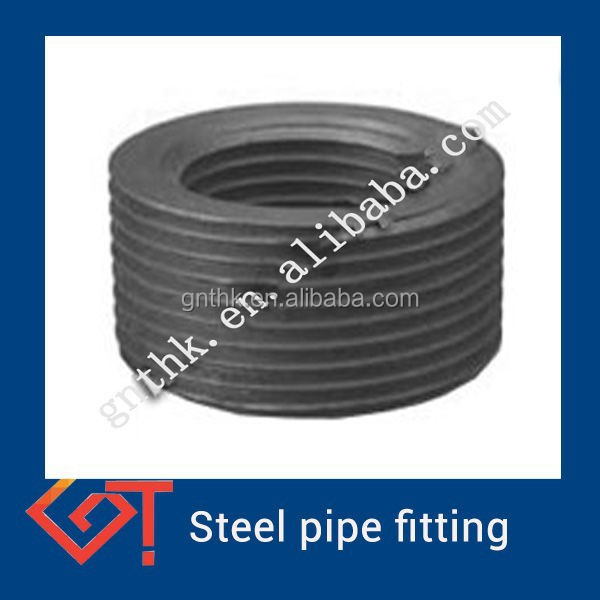 high pressure forged steel pipe locknut and bushing