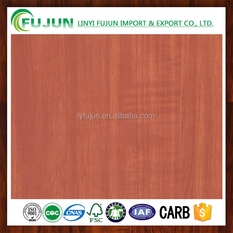 flooring covering melamine impregnated paper