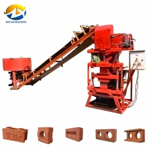 ECO2700 paving slab hold brick making machine with crusher in bangladesh