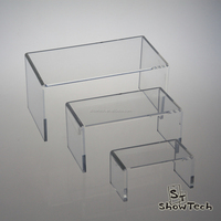 Clear acrylic shoe riser stand clear shoe display stand desktop acrylic monitor riser stand