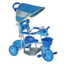 Popular plastic tricycle kids bike 3 wheeler pedal car for sale