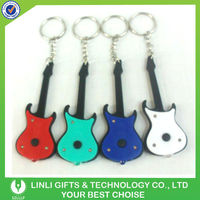 guitar led keyring promotional giveaways