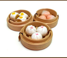 Portable Bamboo disposable steamed bun steamer