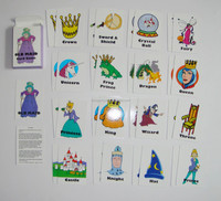Mini Custom Memory Kids Playing Card For Children