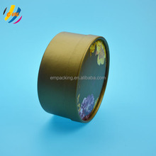 CMYK printed food grade round paper cookie tube