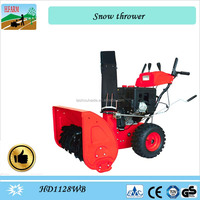 11 HP gasoline powered snow cleaner