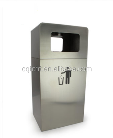 OEM customized stainless steel dustbin