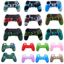 New Silicone Skin Cover Case Rubber Case Grip Cover Skin For <strong>Playstation</strong> 4 PS4 Dualshock Wireless Controller FREE DHL