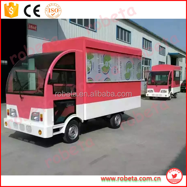 2016 Unique design popular technology vegetable food cart/custom electric food van/ motorcycle tricycle china mobile
