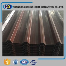 Professional zinc corrugated metal roofing for sale sheet
