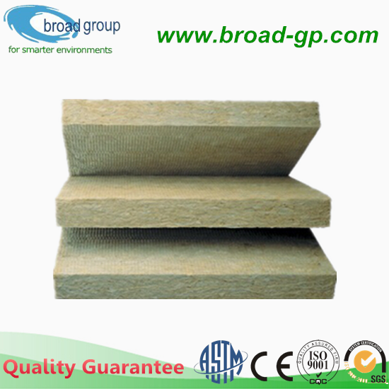 60kg M3 Mineral Wool Board Water Repellent 50mm Rock Wool
