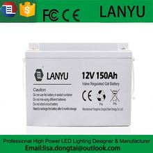 Big size Gel storage battery 150ah 12V