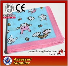 2016 Fashion Printed Kids cotton Handkerchiefs
