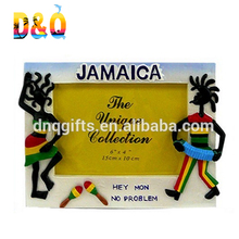 New product jamaica souvenirs resin funny photo frame