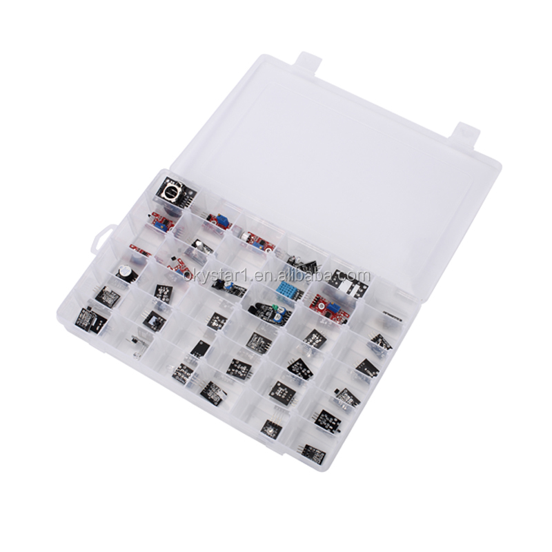 Hot sale New arrival Easy leaning 37 in <strong>1</strong> module sensor kit starter kit uno r3