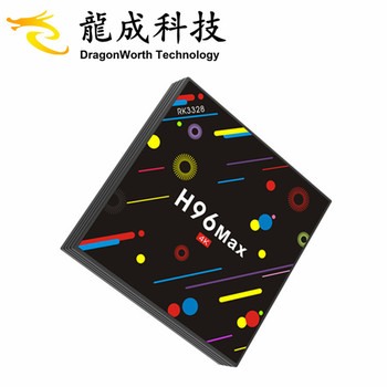 hd world tv receiver H96 MAX+ H2 RK3328 4G 32G coship satellite receiver android 9.1 smart tv box hd digital media player