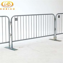Galvanized Security Mobile Barrier fence/Pedestrian though crowd control barriers