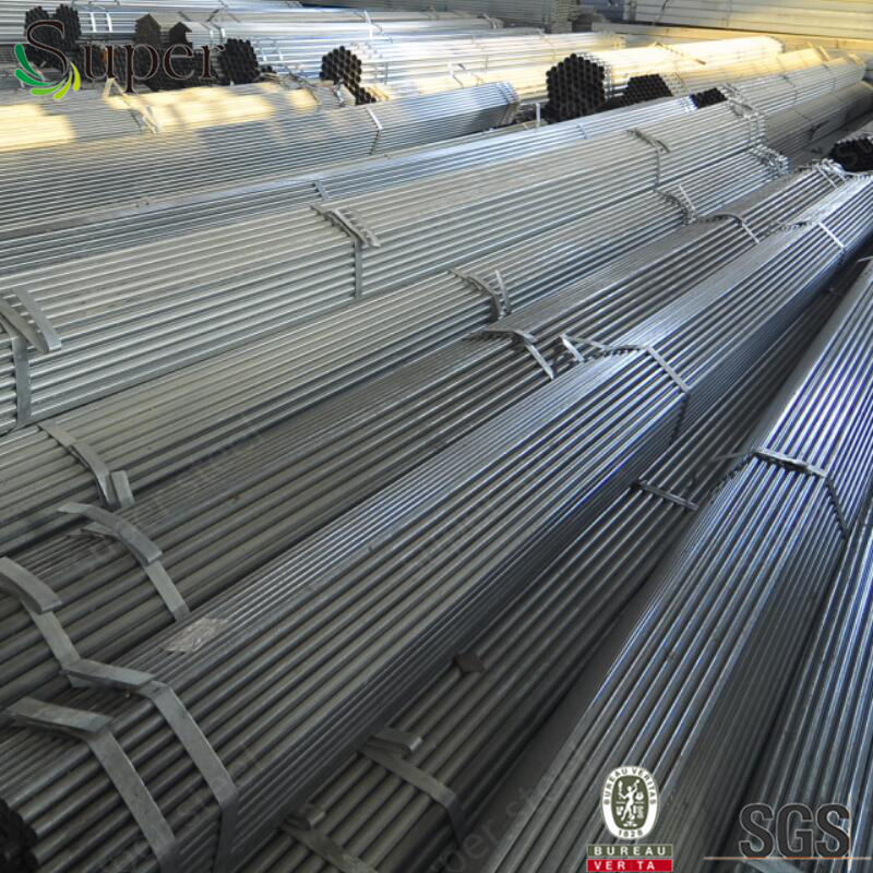 Greenhouse frame / ASTM A 53 ERW steel pipes / Pre galvanized steel pipe for sale